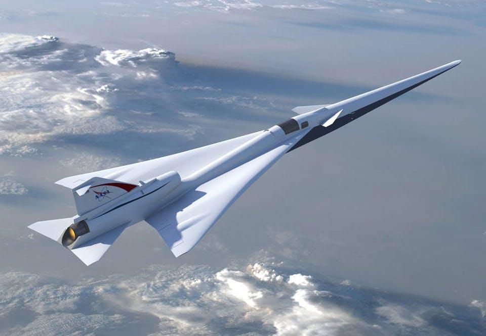 Supersonisch vliegtuig