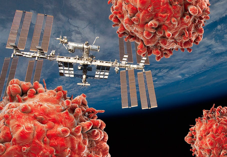 Kanker in de ruimte
