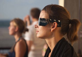 Skyddsglasögon solförmörkelse