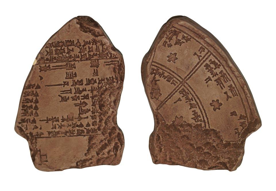 Babylonische kleitabletten
