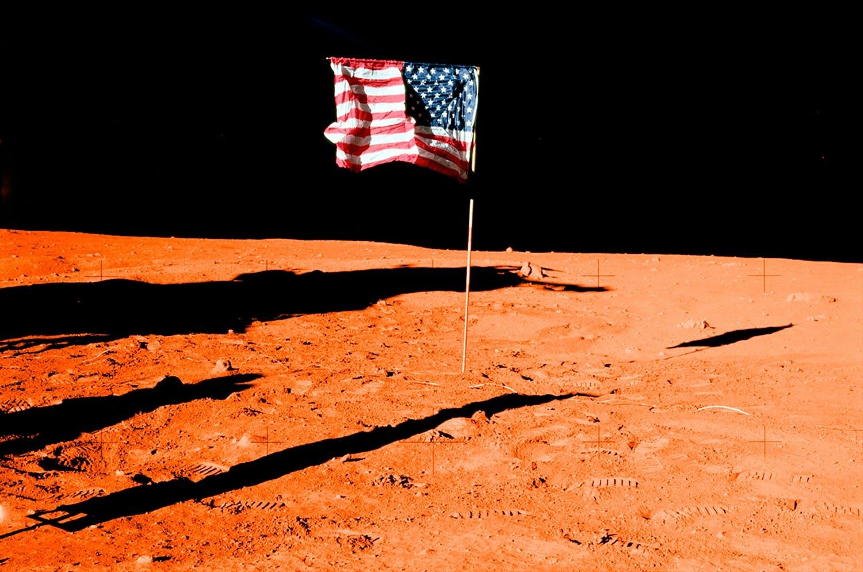 Vlag op Mars