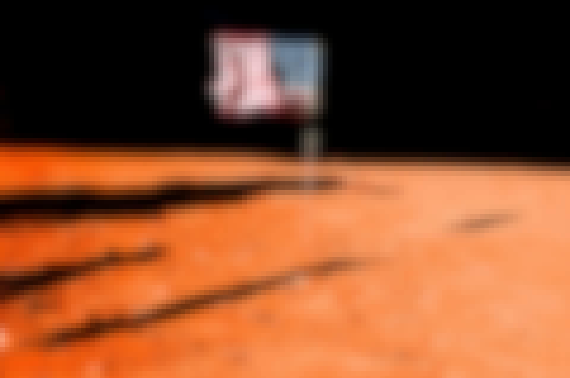 Flagga på Mars