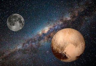 Månen och Pluto