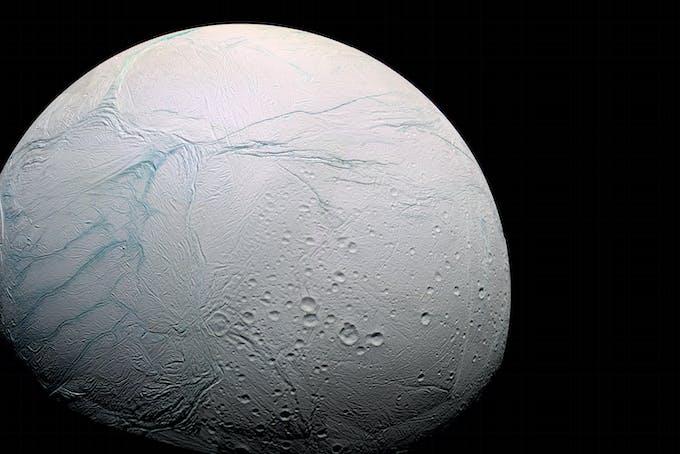 Elämää avaruudessa Enceladus