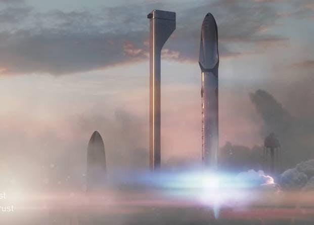 SpaceX raket