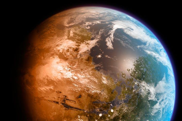 Mars-Maan-kopio