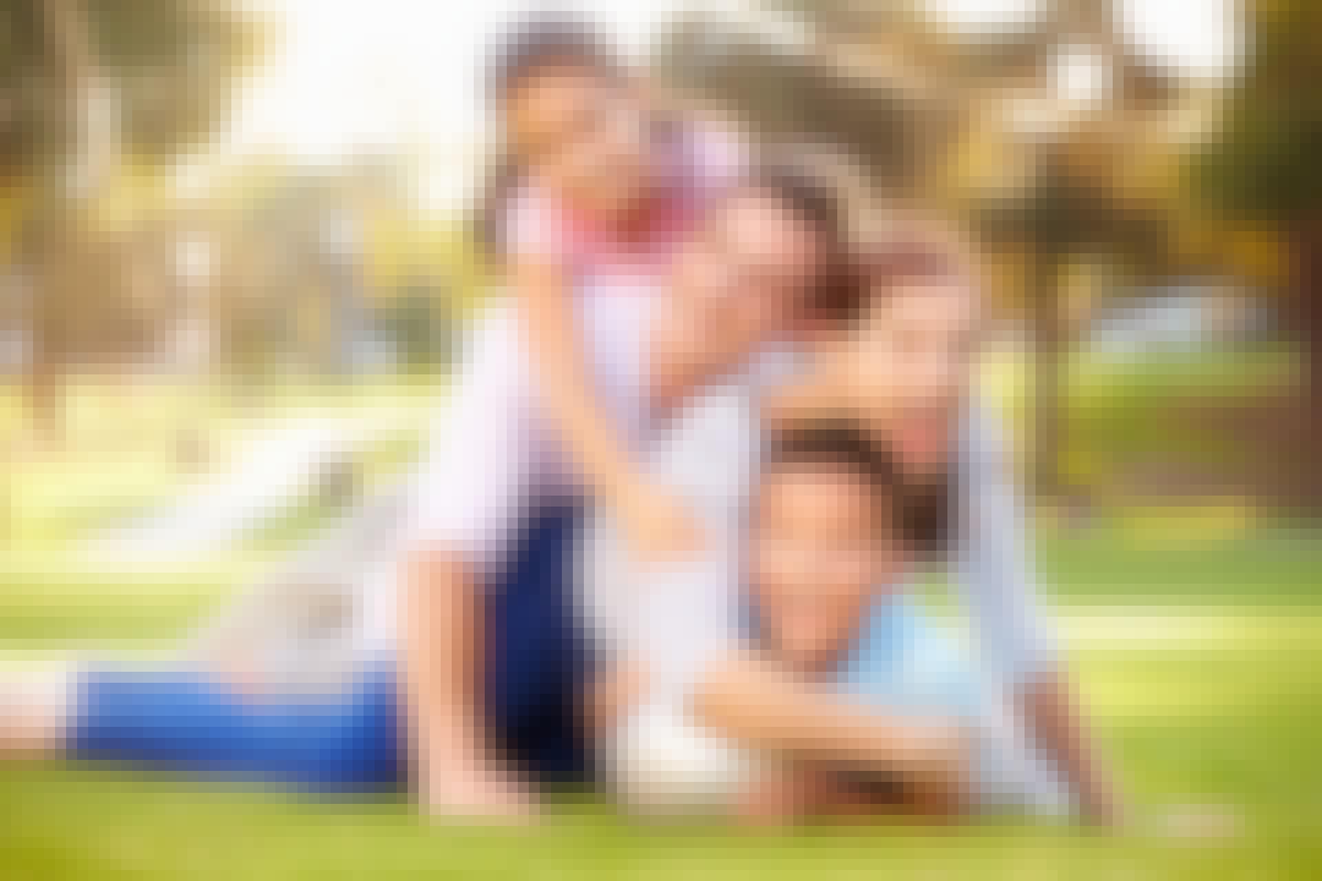 Hvilke slægtninge deler flest gener?
