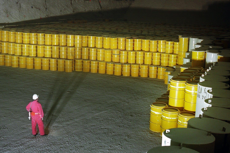 kernafval gesmolten zout