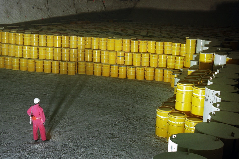 atomaffald smeltet-salt