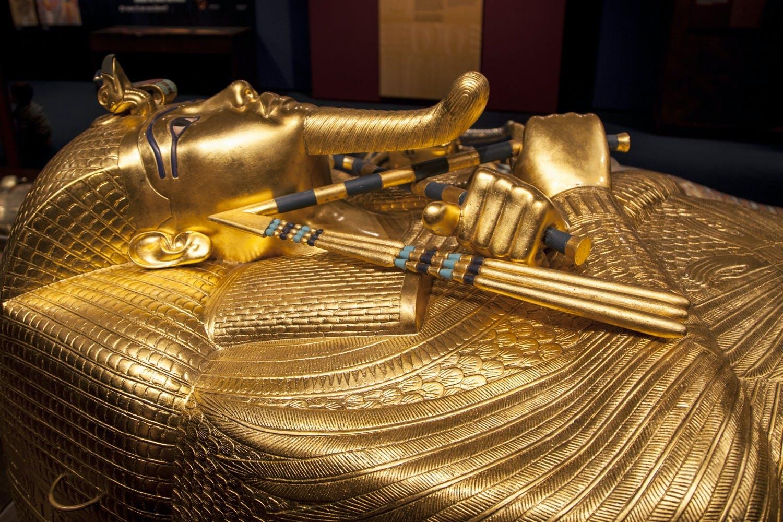 skatte Tutankhamons dødsmaske