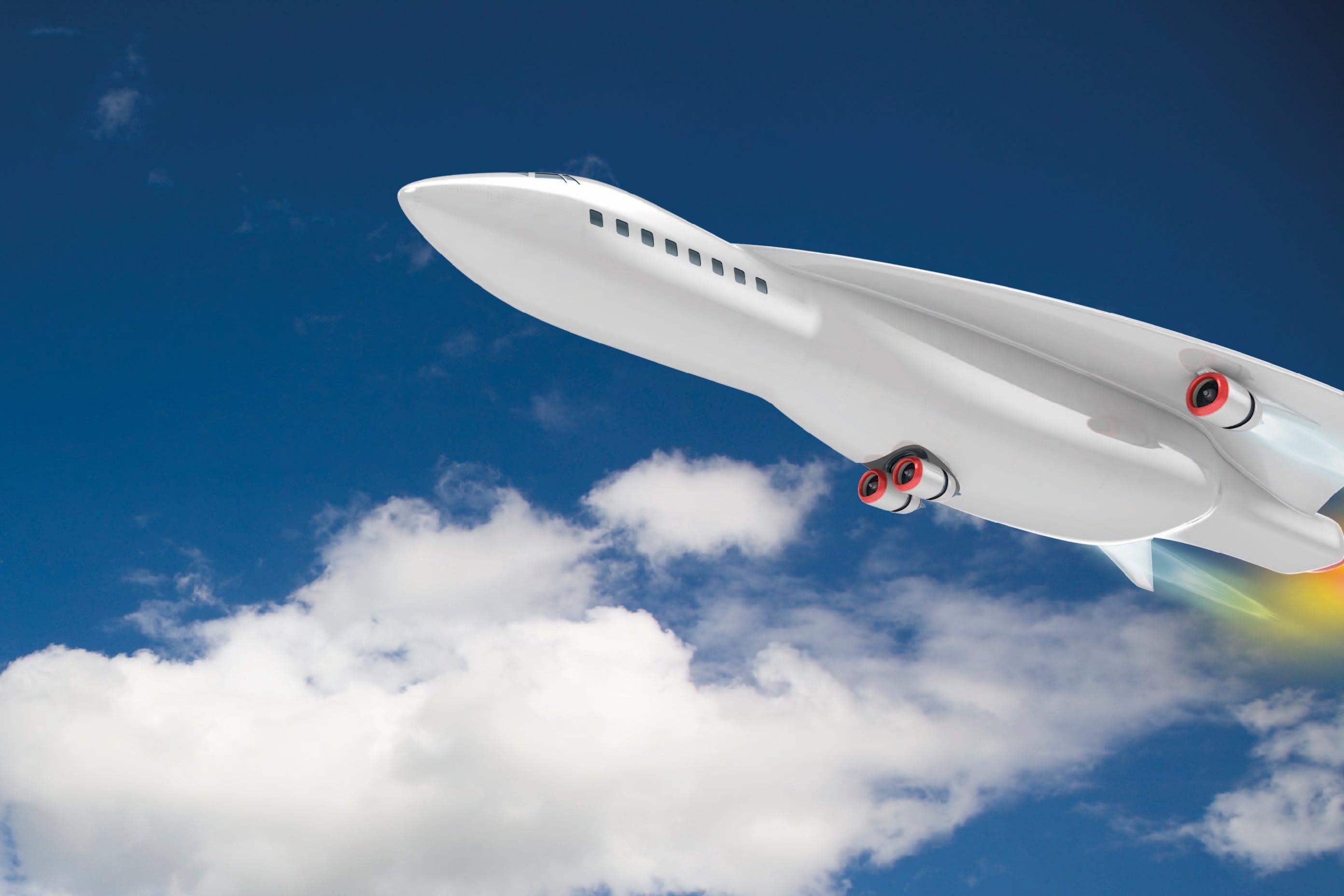 Airbusin kone lentää 5 500 km/h