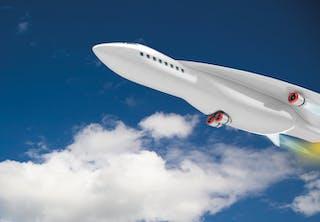 Airbus-toestel vliegt met 5500 km/h