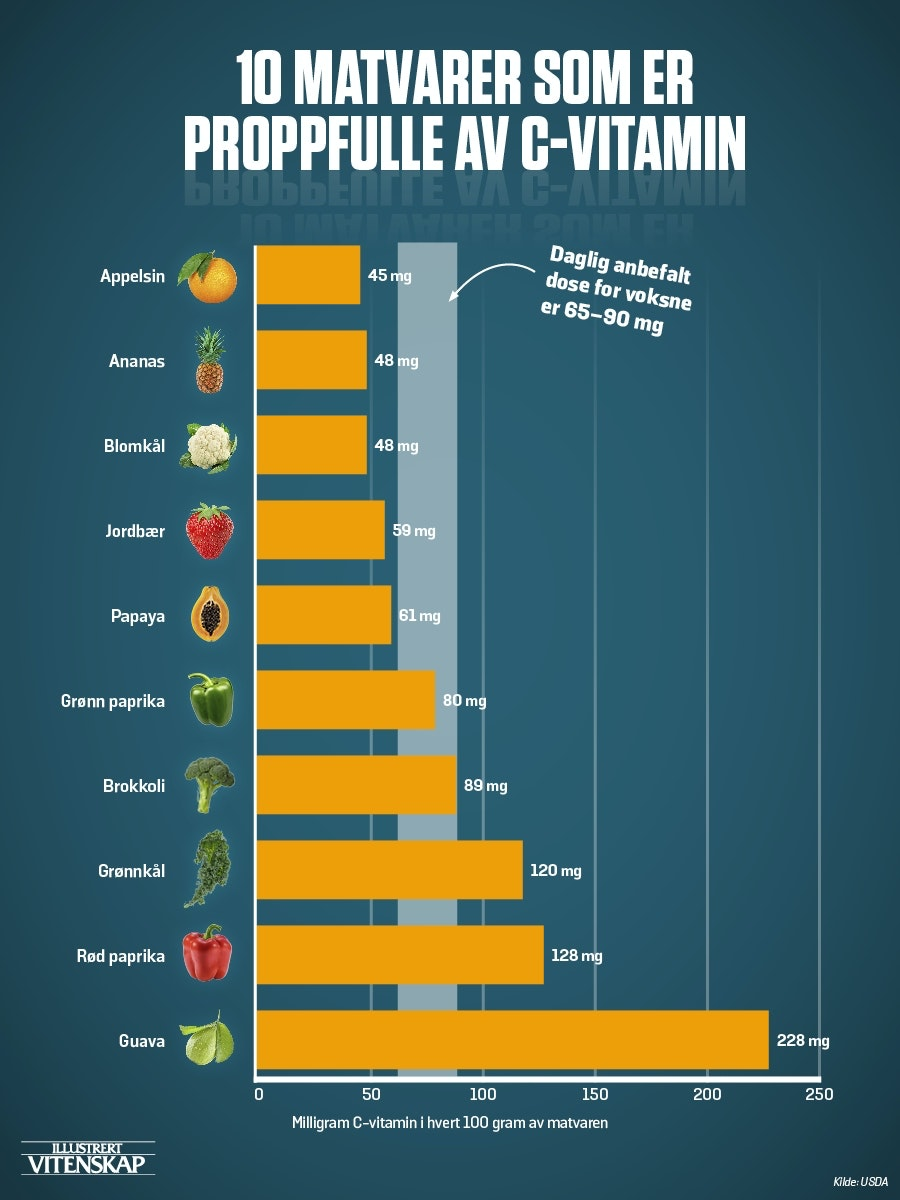 mat med c vitamin