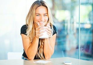 Koffie perfect kopje