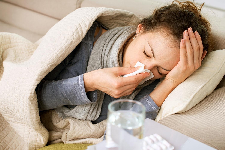 hvor lenge smitter forkjølelse