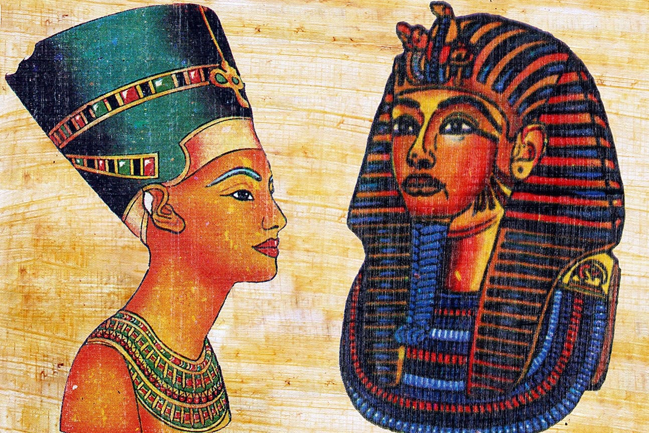 Nefertiti ligt begraven bij Toetanchamon