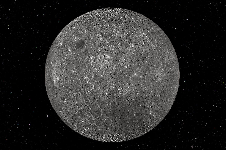 Er Månens bakside forskjellig fra forsiden?