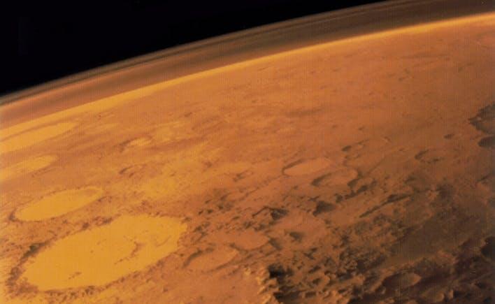 Mars' atmosfære