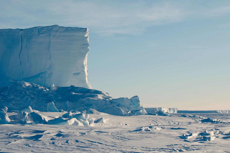 antarktis smälter inte