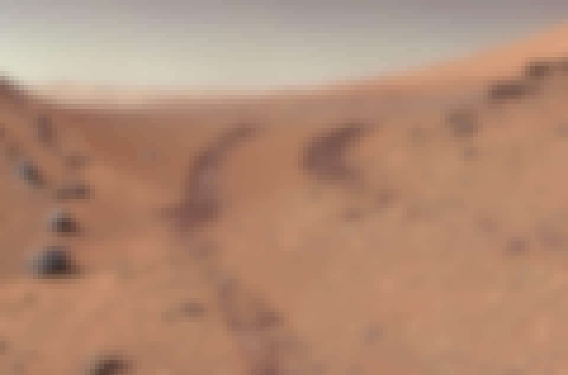 Mars overflade