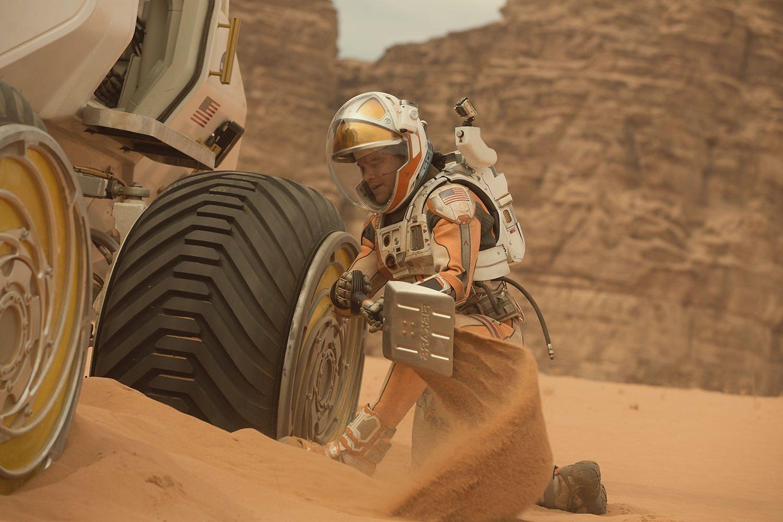 Yksin Marsissa yläkuva