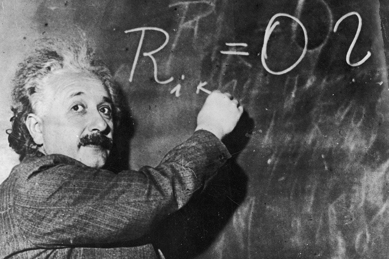 Einstein liitutaulu