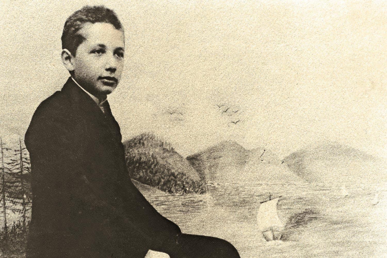 Einstein nuorena