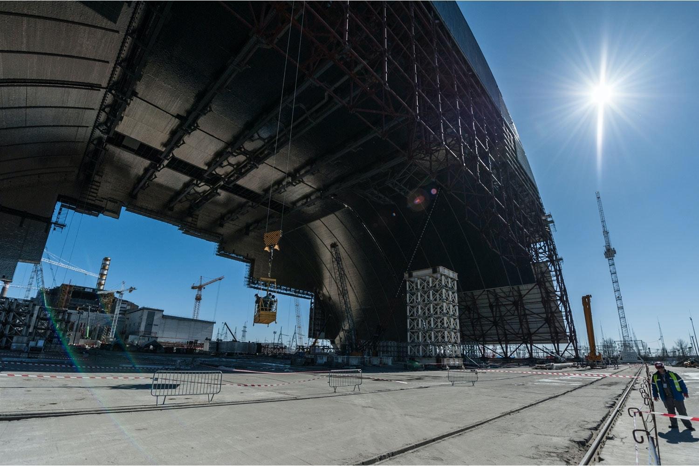 Tjernobyl sarkofag opener