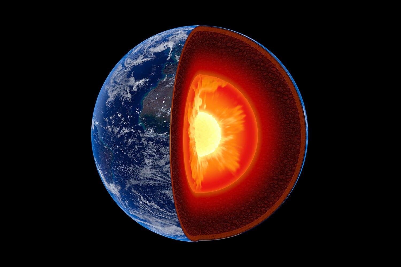 Jordens inre kärna har en egen kärna