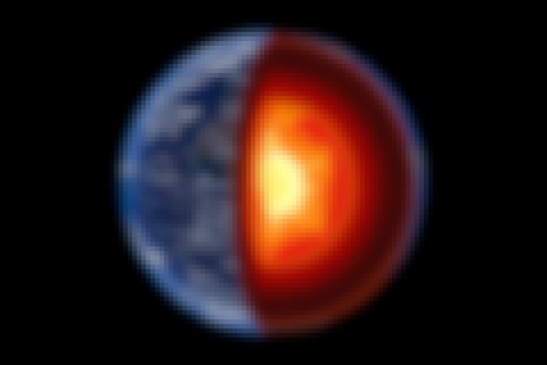 Jordens indre kerne har sin egen kerne