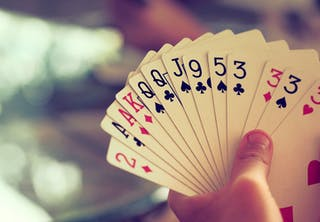 Pelikorttien maat
