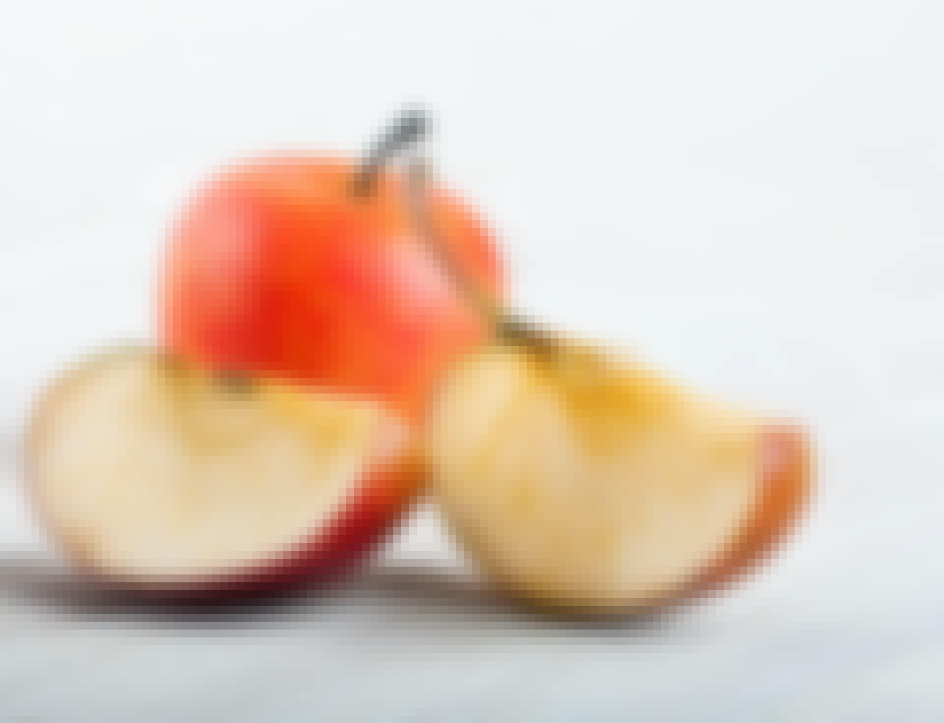 Hvorfor bliver æbler brune?