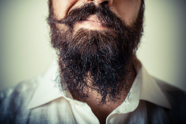 Hvorfor har menn skjegg