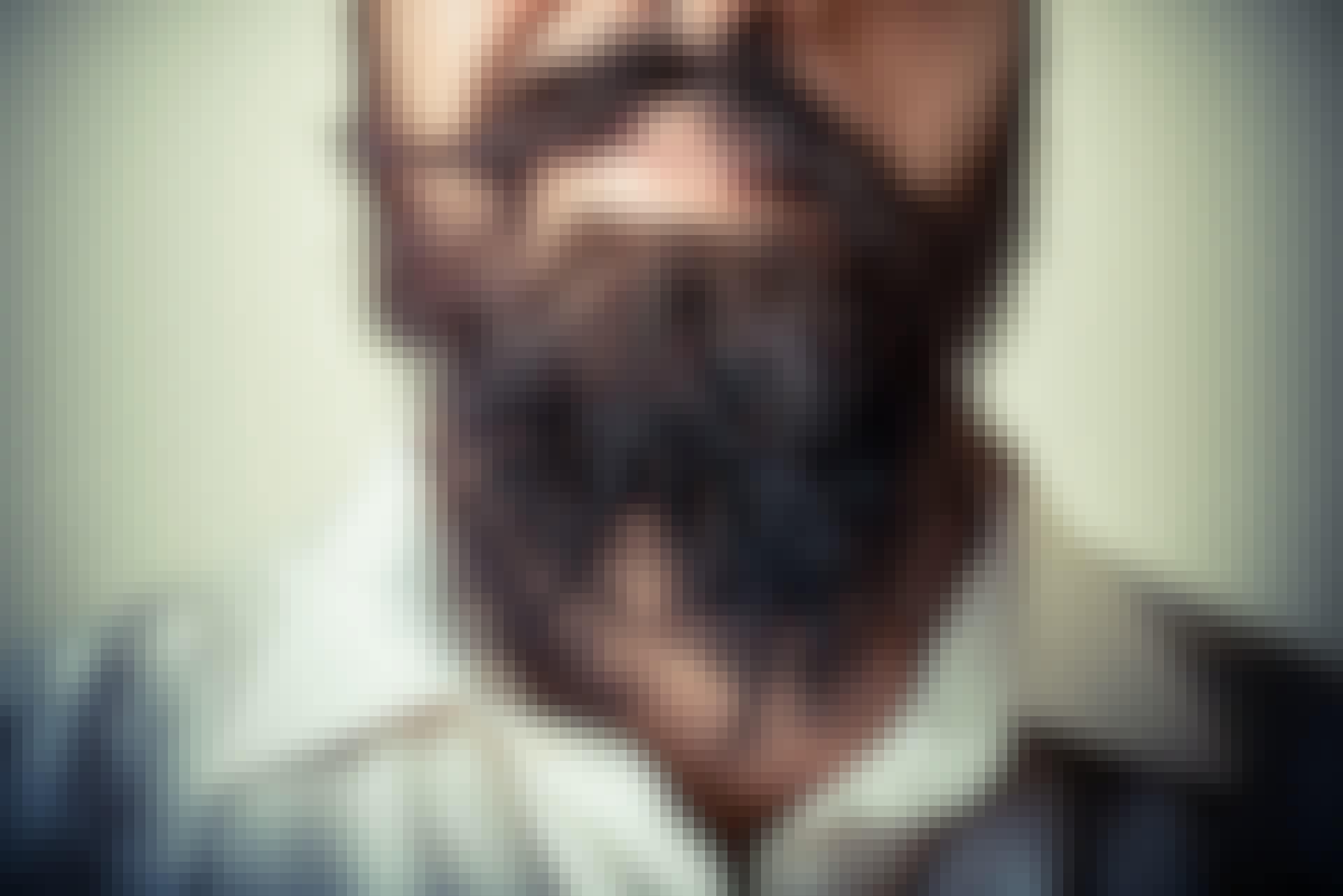 Varför har män skägg