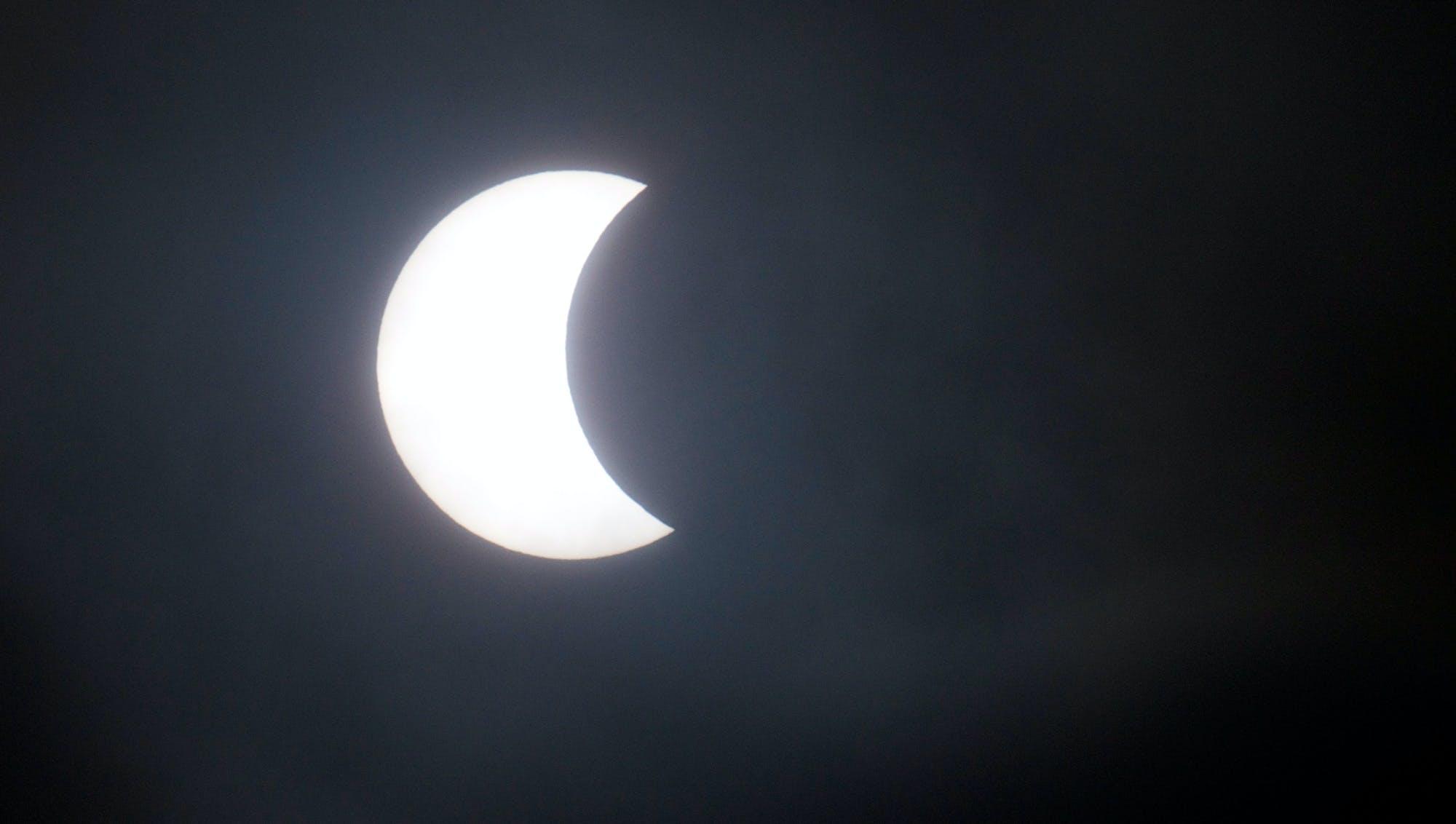 Eclipse på færøerne - 9.10