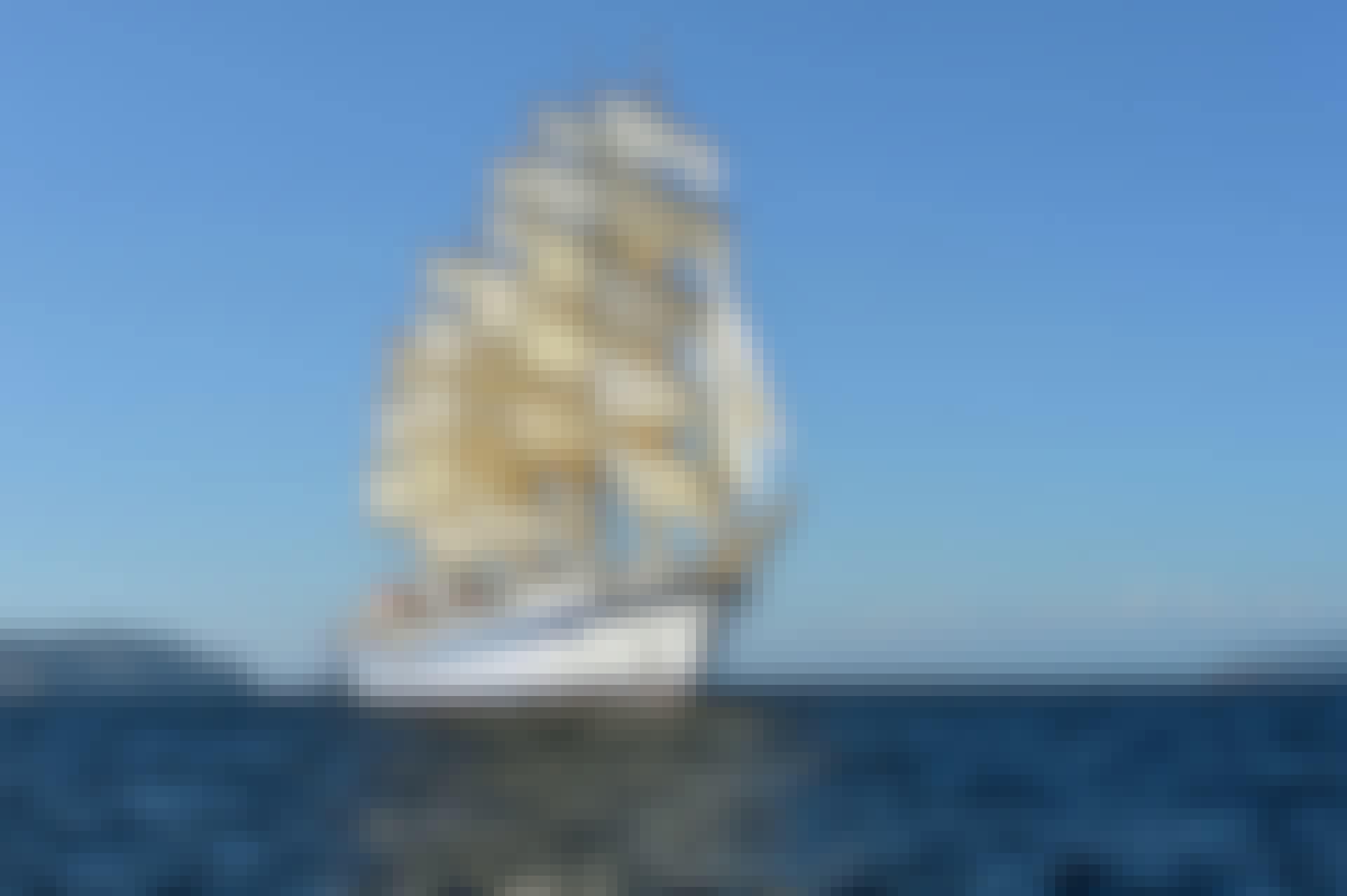 Historisk treskip - klipperen