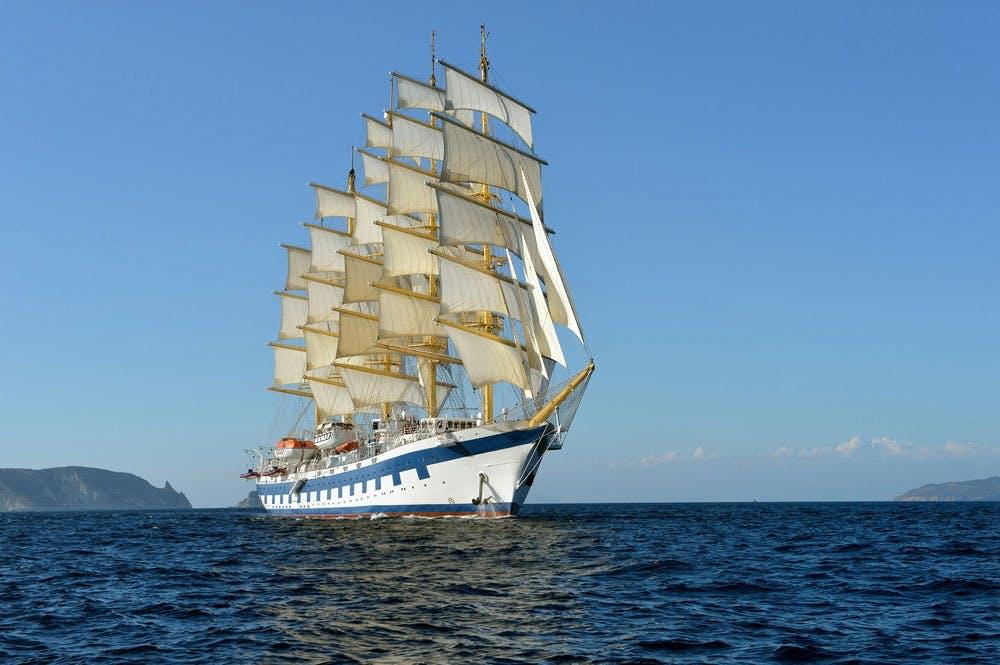 Historiske sejlskibe - klipperen