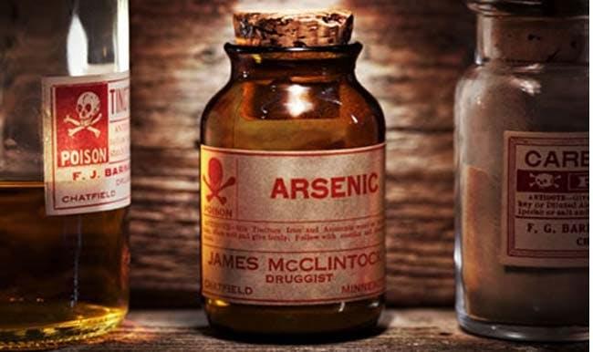 det periodiske system arsen