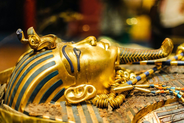 mumie, egyptisk, sarkofag