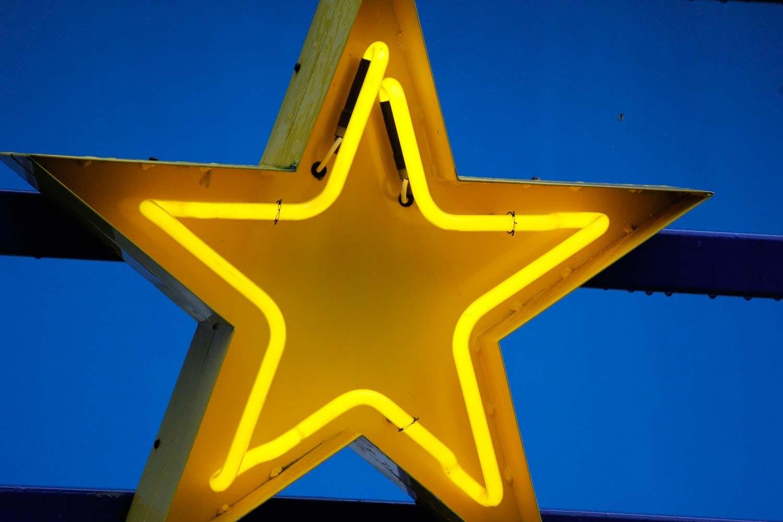 Neon stjerne