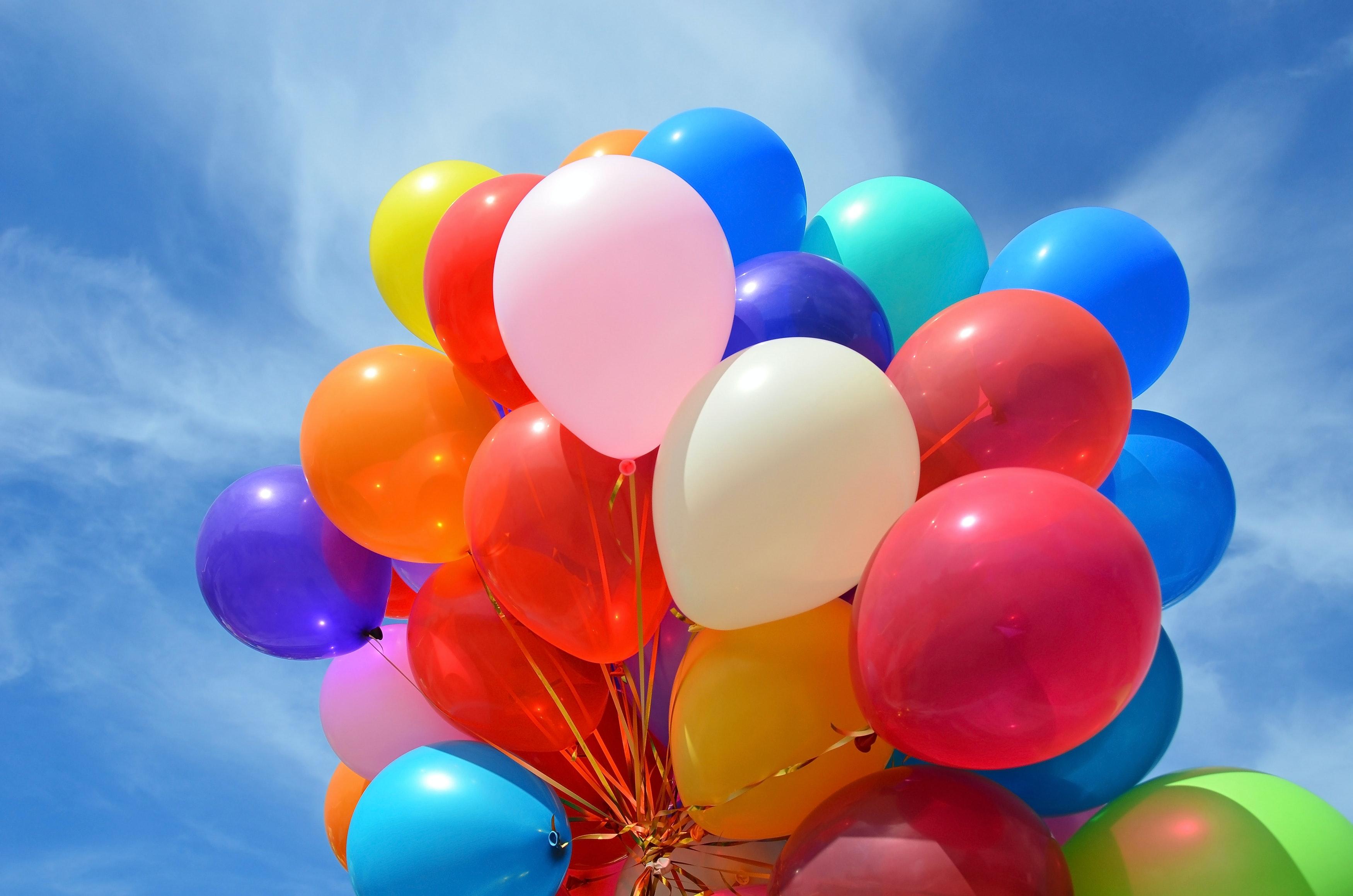 Det periodiske system helium ballon