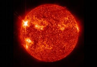 Solen truer oppdrag til Mars