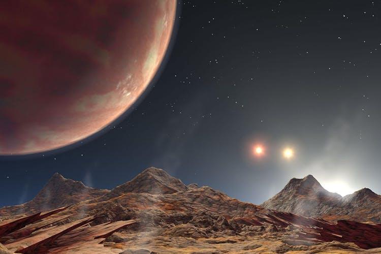 Planeetat: kolme tähteä ja kummajainen