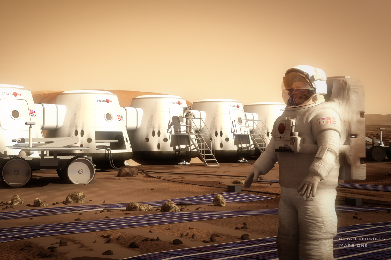 Mars One baggrund for missionen til Mars
