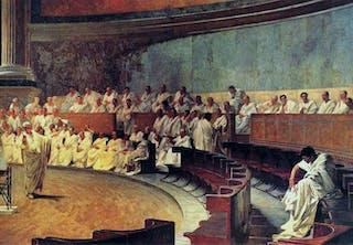 Romerriket språk