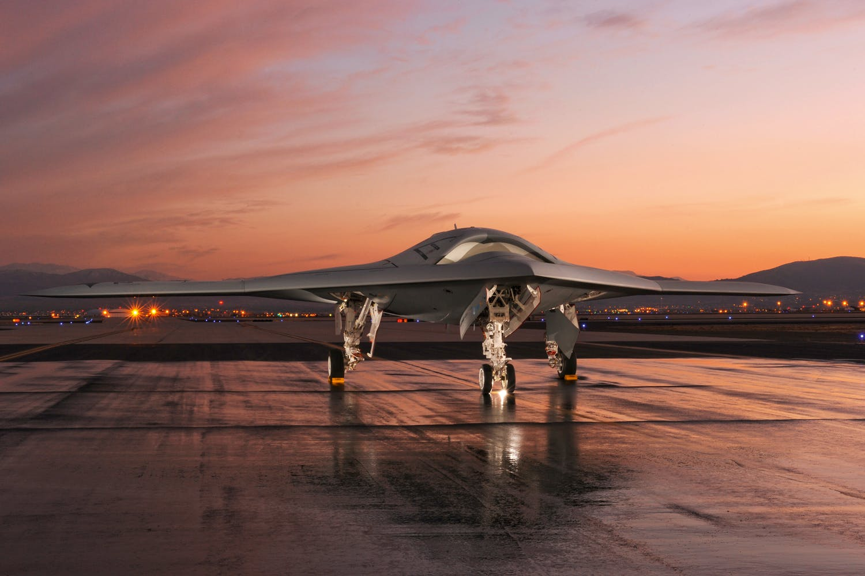 Drönare X-47B