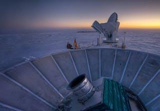 Teleskop på sydpolen