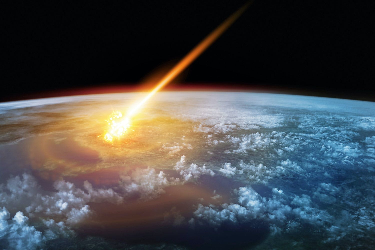 Asteroide impact