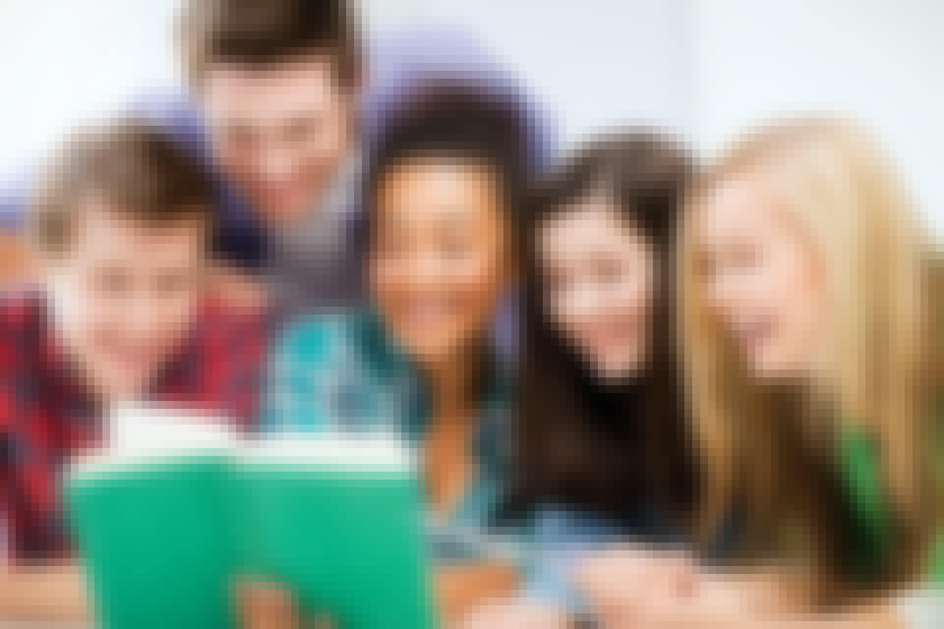 Teens study