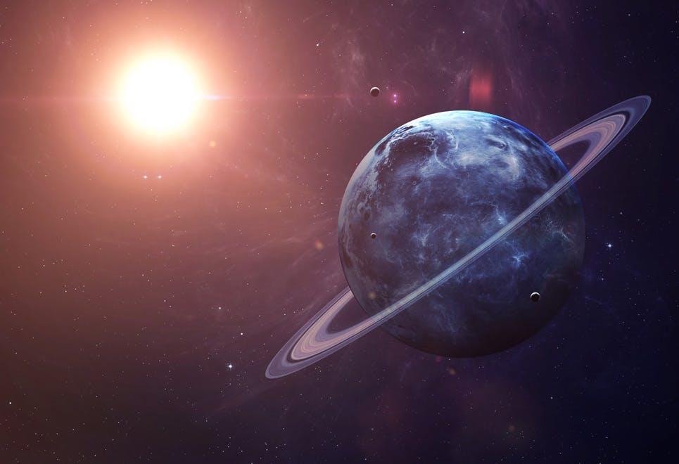 Uranus avstånd till solen
